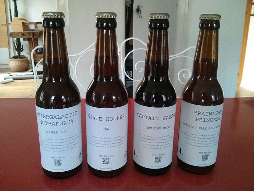 Bières artisanales Lausanne