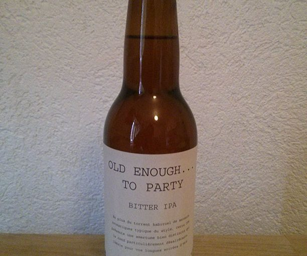 OLD ENOUGH… TO PARTY