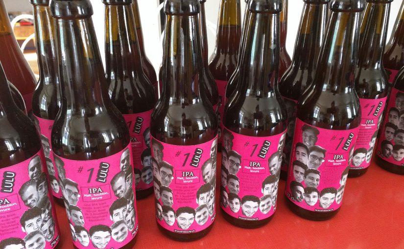 Première bière personnalisée au Lustriacum de Lutry